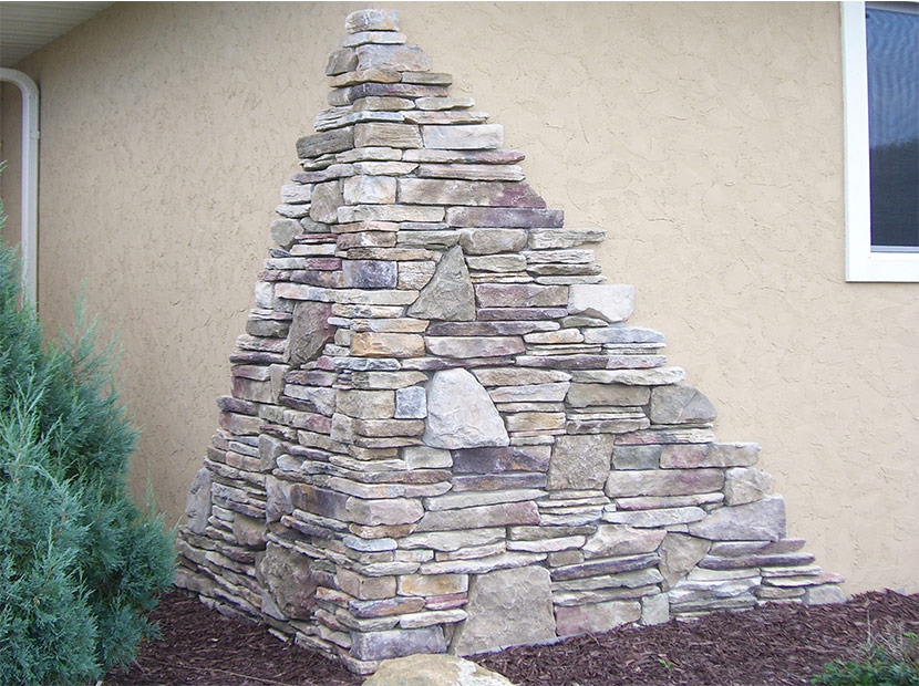 Brick and stone siding options eau claire black river for Mortarless stone siding