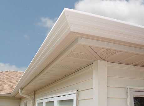 Seamless Gutters Asher Lasting Exteriors Eau Claire Wi