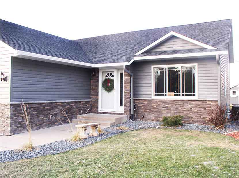 Brick and stone siding options eau claire black river for Brick stone siding