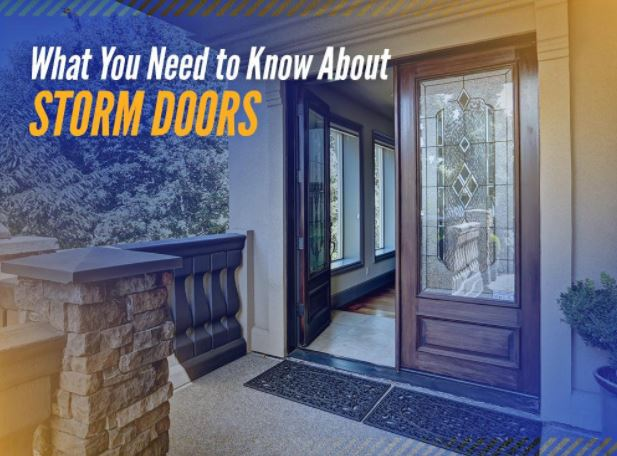 ... Installing A Storm Door On Your Hinged Entry Doors. What Exactly Is It  And Why Do You Need It? Asher Lasting Exteriors Explains How This Exterior  Door ...